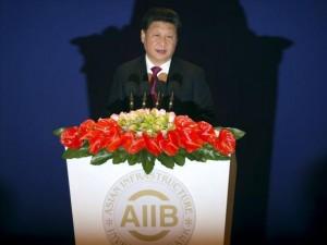 Præsident Xi Jinping taler ved den officielle åbning <br>af Asiatisk Infrastruktur-Investeringsbank