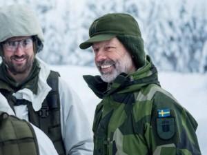 Chefen for den svenske hær: <br>Vi kunne være i krig inden for få år