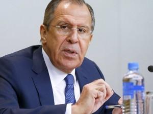 Ruslands Lavrov adresserer valget mellem to systemer i verden: <br>Geopolitik, eller nationer, der går sammen om at konfrontere fælles udfordringer