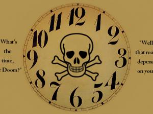 Atomic Scientists Bulletin sætter uret til Tre Minutter i Dommedag