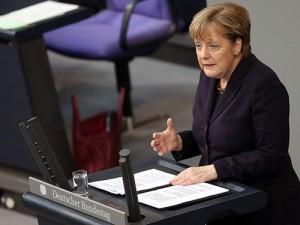 Rusland trækker på skuldrene ad kansler Merkels <br>opfordring til en flyveforbudszone over Syrien