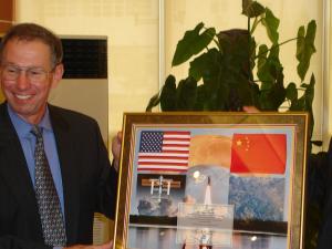Gå ud i rummet med Kina, ikke ad Helvede til med Obama