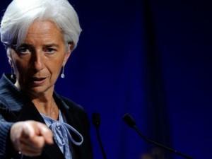 IMF's adm. dir. Lagarde siger, statslige pensioner <br>og sundhedsforsikring for de ældre borgere <br>»ikke er holdbart i længden«