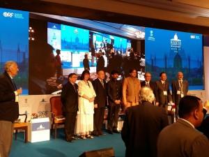 Helga Zepp-LaRouche taler <br>ved Raisina Dialog i Indien