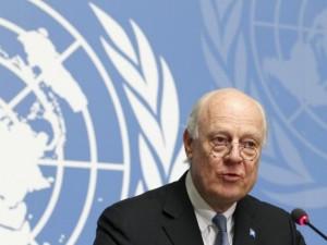 En Marshallplan ville ikke alene standse udvandringen af flygtninge, <br>men mange ville vende hjem, siger FN's de Mistura