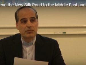 Den Nye Silkevej og Irans rolle: <br>Afskrift af Hr. Abbas Rasoulis tale til <br>Schiller Instituttets of EIR&#8217;s seminar på Frederiksberg den 18. april 2016