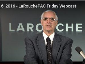 Hvad skal der til, for at gennemføre en global indsats mod terrorisme?:<br> LaRouchePAC fredags-webcast den 6. maj 2016