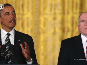 """Idet han taler til forsvar for saudierne, <br>angriber CIA-direktør John Brennan Iran <br>for at være de """"virkelige"""" terrorister i Mellemøsten"""