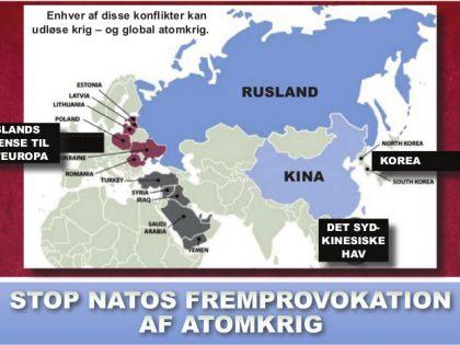 Nyhedsorientering, maj/juni 2016: <br>Stop NATO&#8217;s fremprovokation af atomkrig