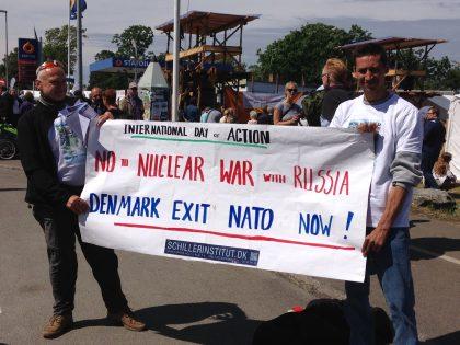 »Tiden er inde til at forlade NATO nu!« <br>Skriv under og cirkulér vores INTERNATIONALE APPEL! <br>LaRouche-bevægelsen og Schiller Instituttet <br>mobiliserer borgerne i hele Europa imod NATO