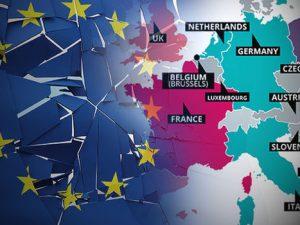EU er bankerot, og sammenbrud er ikke en reaktion på Brexit: <br>Valget er klart; vi behøver et Nyt  Paradigme, <br>med globalt samarbejde om udvikling, <br>med Rusland og Kina, og Europa og USA!