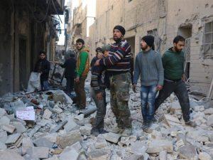 Russerne er forsigtigt optimistiske mht., <br>at den humanitære indsats i Aleppo kan fungere