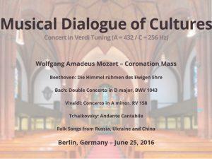 Video: En musikalsk dialog mellem kulturer: <br>Koncert i forbindelse med Schiller Instituttets <br>internationale konference i Berlin den 25. – 26. juni 2016