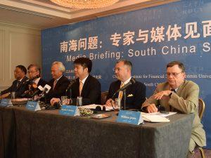 EIR indtager prominent rolle ved pressekonference i Washington om det Sydkinesiske Hav