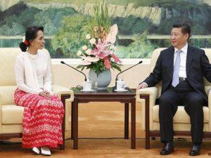 Præsident Xi mødes med Aung San Suu Kyi; <br>Xi ser 'Strålende fremtid' for Myanmar-folket; <br>LaRouche bemærker betydningen for »hele området«