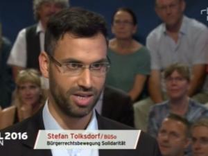 Valg i Tyskland: <br>BüSo-spidskandidat i Berlin, Stefan Tolksdorf, <br>introducerer Silkevejsperspektivet for vælgere i Berlin