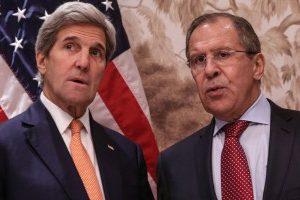 Kerry og Lavrov arbejder på at få banket en aftale om Syrien igennem