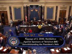 Kongressen leverer en øredøvende lussing til Obama og anglo-saudierne