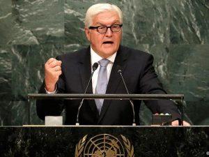 Steinmeier i FN: Verden må tage en beslutning