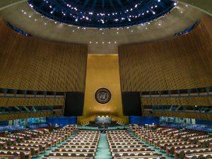 APPEL til FN&#8217;s Generalforsamling: <br>Et Nyt Paradigme for <br>Menneskehedens Fælles Mål. <br>Af Helga Zepp-LaRouche