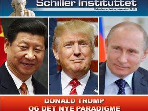 NYHEDSORIENTERING november 2016: <br>Donald Trump og det nye paradigme