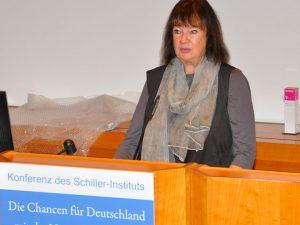 Schiller Institut-symposium i Tyskland <br>kræver, at Tyskland tilslutter sig <br>den Nye Silkevej