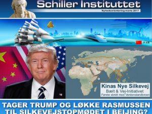 NYHEDSORIENTERING MARTS 2017:<br> Tager Trump og Løkke Rasmussen til Silkevejstopmødet i Beijing?