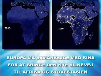 NYHEDSORIENTERING JULI 2018: <br>Europa må samarbejde med Kina <br>for at bringe Den Nye Silkevej til <br>Afrika og Sydvestasien