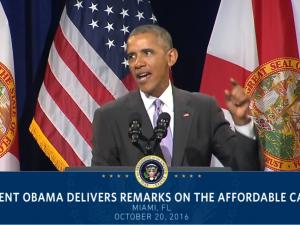 POLITISK ORIENTERING  den 26. oktober 2016: <br>Obamas eftermæle er død, ødelæggelse og økonomisk ruin
