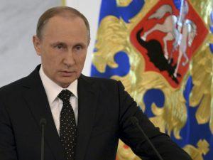 Putins tale til Dumaen: Ruslands styrke er <br>dets folks enhed, ikke supermagtsambitioner