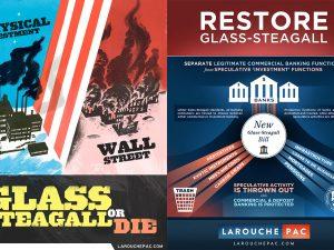 Trumps vending mod Glass-Steagall <br>åbner feltet for LaRouches Fire Love