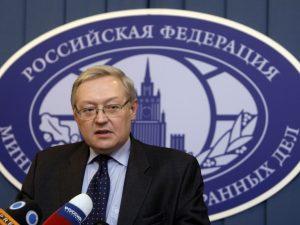 Ruslands viceudenrigsminister Ryabkov: <br>USA og Rusland ved stadium af meget <br>skarp uenighed i opfattelse over Syrien