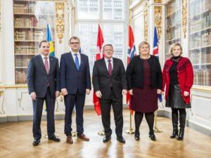 Statsministre fra Norge og Finland besvarer EIR's spørgsmål om konflikten med Rusland