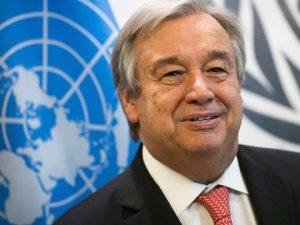 Den udnævnte, nye FN-generalsekretær afholder hjerteligt møde med præsident Putin