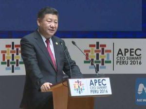 Xi Jinpings hovedtale ved APEC-ledertopmødet i Lima, Peru: <br>'Styrkelse af partnerskab for større fremdrift af vækst'
