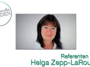 Helga Zepp-LaRouche præsenterer det Ny Silkevejsparadigme <br>på fredskonference i Tyskland