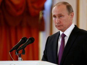 Præsident Putin lykønsker Trump: Rusland rede til at arbejde for at genoprette <br>relationer med USA 'i fuldt omfang', til gavn for verden