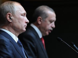 Præsident Putin: Mordet på russisk ambassadør <br>vil ikke drive en kile ind mellem Rusland og Tyrkiet