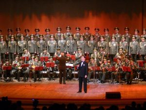 Kondolencehilsen til Alexandrov Ensemblet og det russiske folk