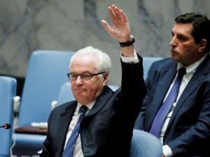 Rusland nedlægger veto mod FN's Sikkerhedsråds resolution om Syrien