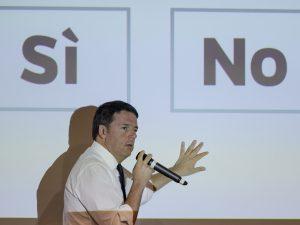 Hvis Renzi vinder folkeafstemningen, <br>må Italien ændre sin forfatning for at forlade euroen