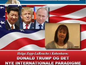 NYHEDSORIENTERING DECEMBER 2016: <br>Helga Zepp-LaRouche i København: <br>Donald Trump og Det Nye Internationale Paradigme
