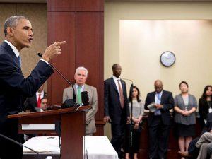 Lyndon LaRouche: <br>Obamas ord er en trussel om at dræbe
