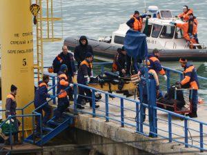 Russisk TU154 styrter ned på vej til Syrien