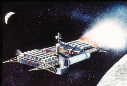 Et Syvmileskridt – til Månen. <br>Menneskehedens fremtidsepoke i rummet <br>er endelig kommet