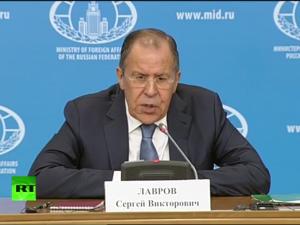 Sergei Lavrov: Vestens post-kristne <br>messianisme har bragt kaos til verden <br>– Vi må genindføre menneskelige værdier
