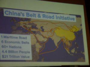 Kinesisk medie rapporterer, at »Bælt-og-Vej« <br>får støtte fra indflydelsesrig tysk politiker, <br>Helga Zepp-LaRouche, på seminar i Stockholm