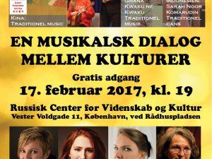 Vidunderlig koncert, »En Dialog mellem Kulturer«, et gennembrud i København