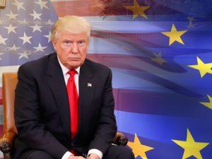 Trump kræver atomvåbenaftale med Rusland; støtter EU's opløsning