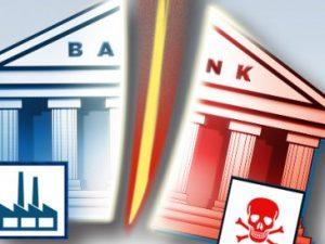 Mobilisér for at genindføre Glass/Steagall-bankopdelingsloven NU; <br>stands et globalt finanssammenbrud!
